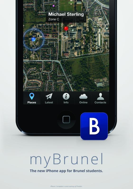 Exhibition Boardrobert huntcreating an iphone app for brunel university