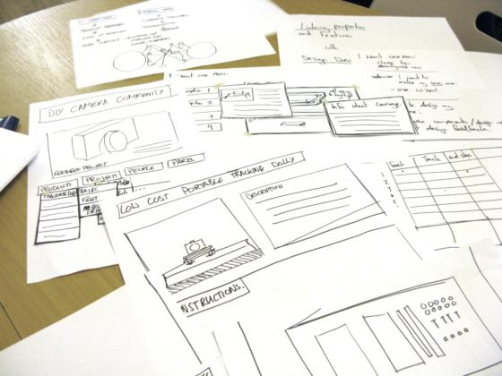 Paper prototypingedwin footefish eye making community