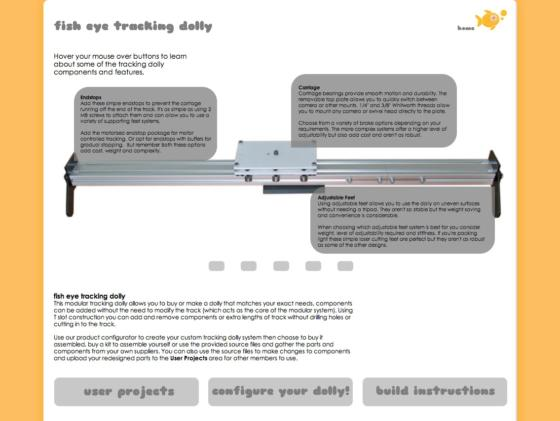 Website for pad1edwin footefish eye making community